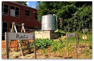 Rainwater Harvesting -  Burnley-Moran ES - Charlottesville